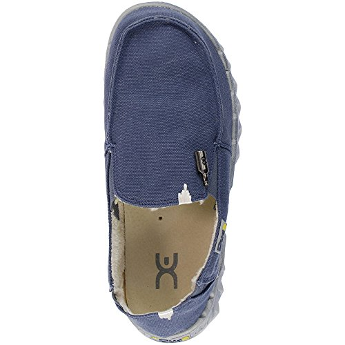 Dude Farty Men's Shoes Blue Chalet Coffee Fur Lined Men's Shoes Dude Fur raZ47xqHrw