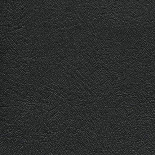 Vinyl Upholstery Fabric Black 54