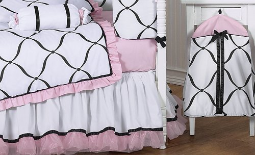 Amazon.com: Rosa, Blanco y Negro Princess Baby Girl Ropa de ...
