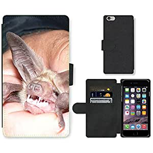 """Hot Style Cell Phone Card Slot PU Leather Wallet Case // M99999060 Bat // Apple iPhone 6 4.7"""""""