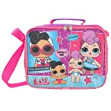 UPD LOL Surprise! Glam Club Soft Insulated Pink Lunchbox Lunch Bag -Doll Face &Miss Punk