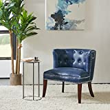 Cheap Madison Park Bianca Shelter Slipper Chair Navy 2625WX255DX28625H