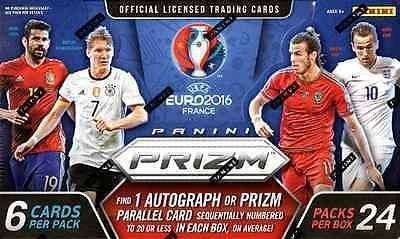 2016 Panini UEFA Euro Prizm Soccer Hobby Box by Panini