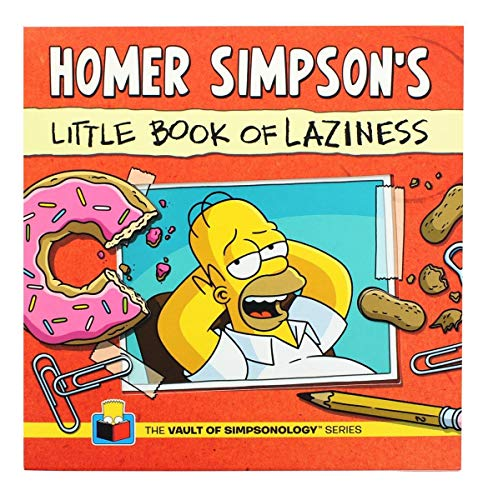 (Homer Simpson's Little Book of Laziness (The Vault of Simpsonology) )