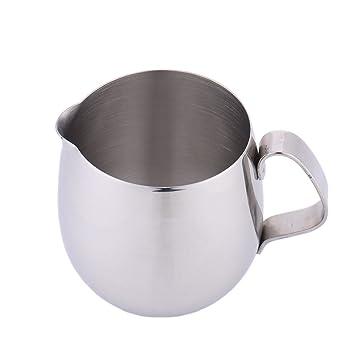 Jarra de leche de acero inoxidable con diseño de Chengstore ...