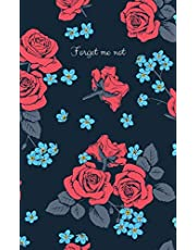 Forget me not: password book with alphabetical tabs, easy password keeping, organizer / internet password logbook to protect usernames and passwords