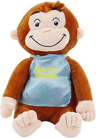 Detazhi 30cm Jorge el Curioso muñeca de la Felpa del Mono Botas Felpa Animal de Peluche Juguetes for niños y niñas (2) (Color : 3): Amazon.es: Hogar