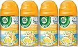 Air Wick Freshmatic Automatic Spray Air Freshener, Bright Citrus Splash, 4 Refills, 6.17 Ounce