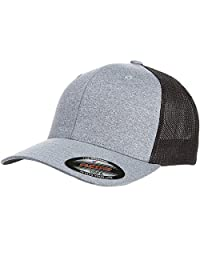 Flex fit Mens Melange Stretch Mesh Cap Hat