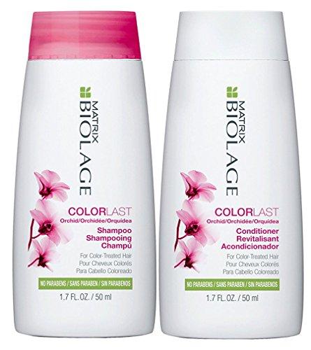 Matrix Biolage Colorlast 1.7oz Shampoo and Conditioner Travel Size Set (Size Shampoo Conditioner Travel)
