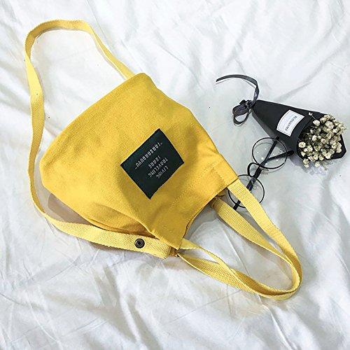 domicile Da à en sacs Fournitures sacs sacs à sacs toile jaune phrase Wa bureau à verts main provisions modèles de xgRpXgwq