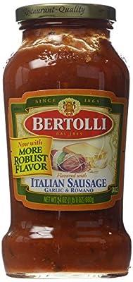 Bertolli Italian Sausage Pasta Sauce 24 oz