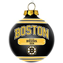 Boston Bruins Official NHL 2014 Christmas Glass Ball Ornament by Forever Collectibles 685977