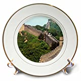 Vacation Spots – Great Wall of China – 8 inch Porcelain Plate (cp_3546_1)