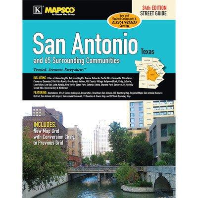San Antonio Street Guide Atlas