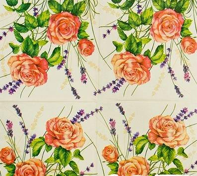 Napkins Decoupage#11 33x33 Cm. 2 Sheets/design 5 Designs Total 10 Sheets