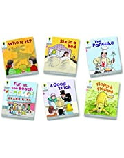 Oxford Reading Tree Biff, Chip and Kipper Level 1. First Words: Mixed Pack of 6