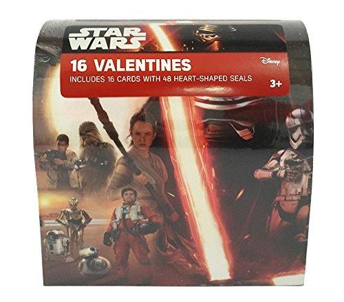 Star Wars The Force Awakens Valentines Exchange Mailbox (16 Valentines)