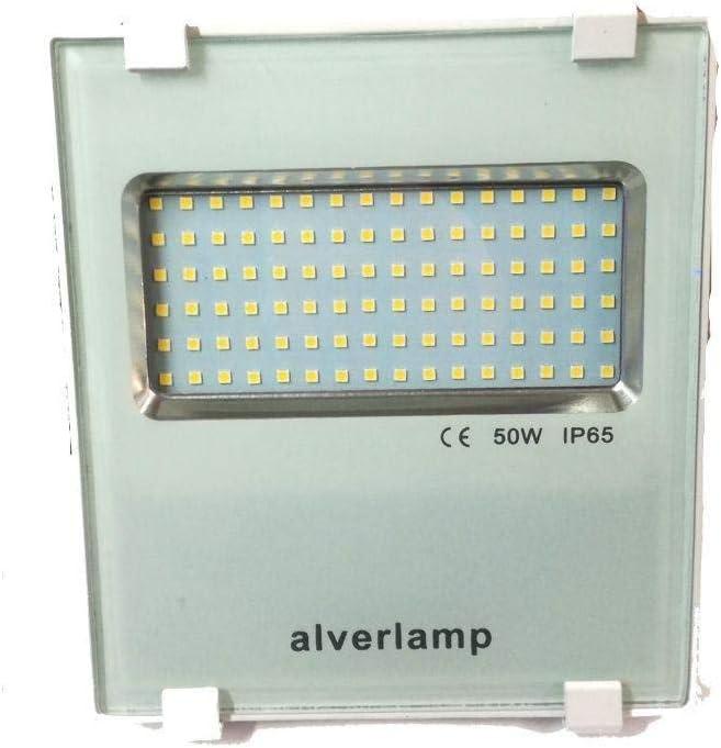 Alverlamp LSPRO5041W - Foco proyector LED, 50W, 4000K, compacto ...