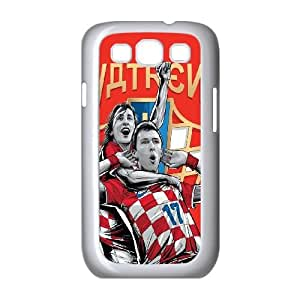 Samsung Galaxy S3 9300 Cell Phone Case White WorldCup Croatia LSO7759056