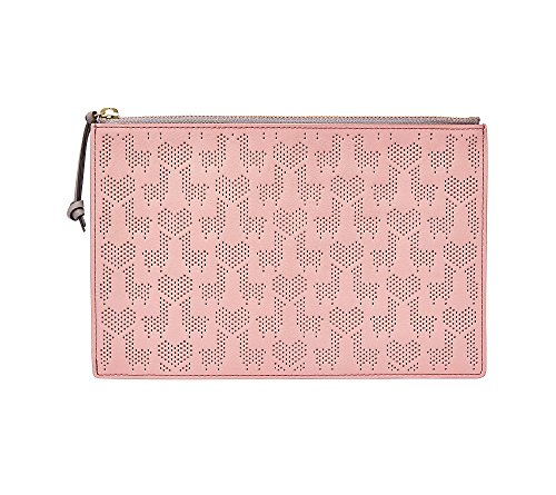 Fossil Rfid Large Pouch, Powder Pink