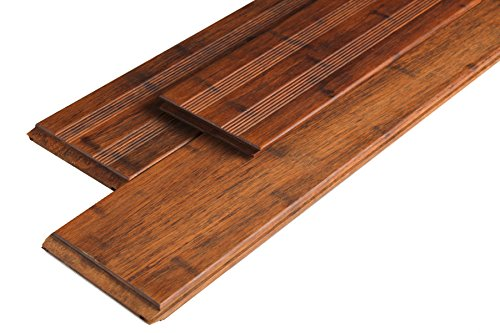 Franz/ösisch// glatt 3 St.// PE Terrassendielen Bambus Coffee 20 x 140 x 2200 mm
