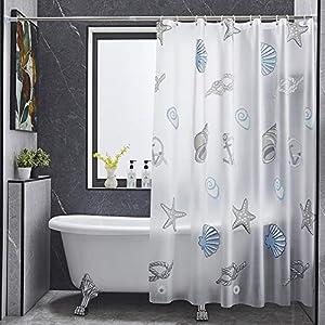 51-Pl5LXZ2L._SS300_ Beach Shower Curtains & Nautical Shower Curtains