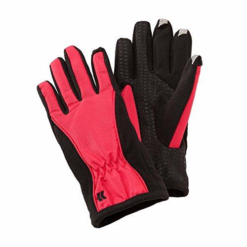 Isotoner Women's Smartouch Matrix Nylon Glove, Deep Azale...