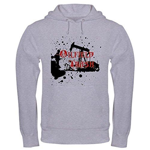 CafePress - Oilfield Trash Hooded Sweatshirt - Pullover Hoodie, Classic & Comfortable Hooded - Oil Rig Jacket