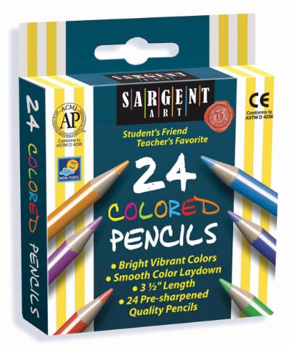 Sargent Art 22 7218 24 Count Colored