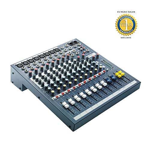Soundcraft EPM8 8 Mono + 2 Stereo Audio Console with 1 Year Free Extended Warranty