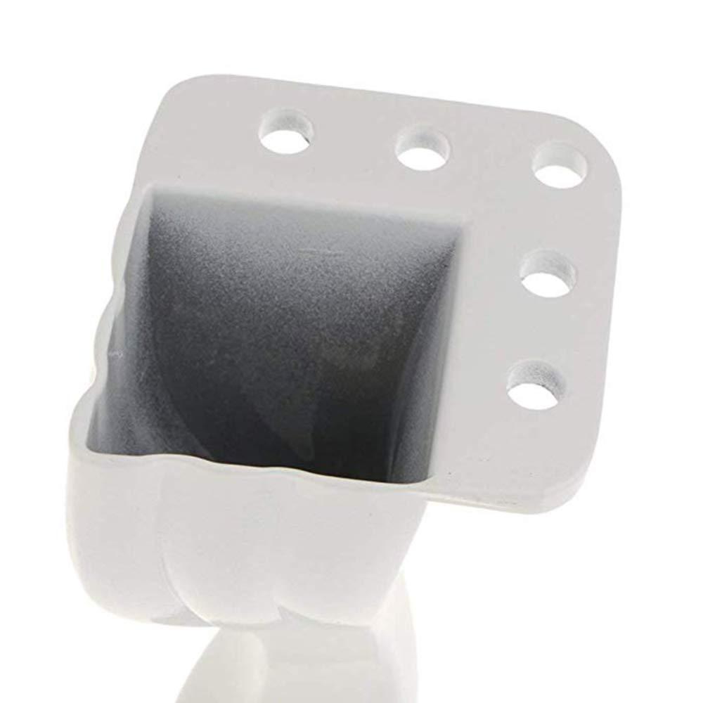 Patas de muebles proyectos de bricolaje de metal curvo de aluminio para el hogar para soporte de TV etc.con protectores de piso de goma extra 4PCS mesa auxiliar para sof/á
