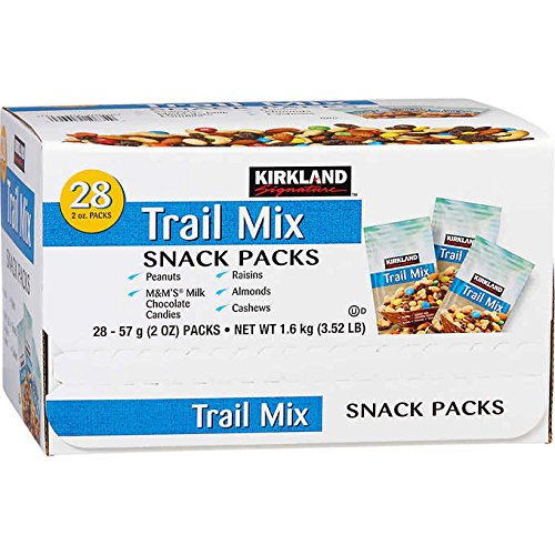 Kirkland Signature Expect More Trail Mix Snack Packs 2 oz, 56 count by EVAXO (Image #4)