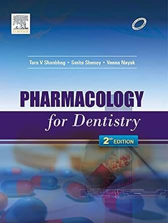 Pharmacology For Dentistry Ebook Tara Shanbhag Smita Shenoy Veena