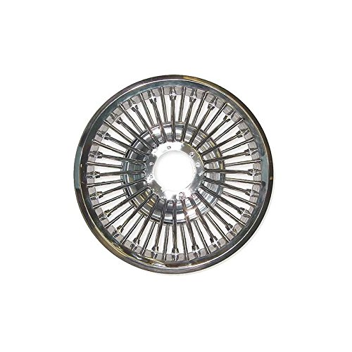 MACs Auto Parts 60-36118 Wheel Cover - Simulated Wire Wheel - Center Hub Not Included by MACs Auto Parts (Image #1)