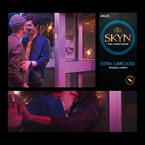 SKYN Extra-Lubricated - Condones sin látex extra lubricados, 54 unidades