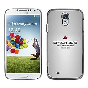 EJOY---Cubierta de la caja de protección la piel dura para el / Samsung Galaxy S4 / --Error 2012