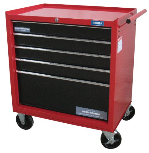 Kodiak 74105 26-Inch 5 Drawer Rolling Tool Cabinet