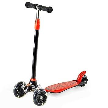 GK Mini Patinete Kick Scooter De 3 Ruedas para Niños Pequeños De 3-8 Años