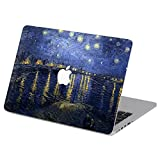 Customized Famous Painting Series Vincent Van Gogh Starry Night Special Design Water Resistant Hard Case for New Macbook 12 Inch with Retina Display (Model A1534)