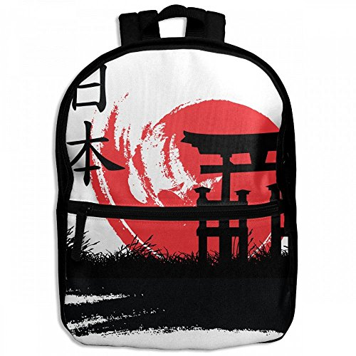 Japanese Kanji Destiny Childrens School Backpacks Casual Daypack Travel Outdoor For Boys And Girls