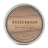 Barbershop Mustache Wax by The Bearded Bastard - Natural Mustache Wax (1 oz)