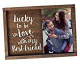 Elegant Signs Love picture frame Lucky to be in Love