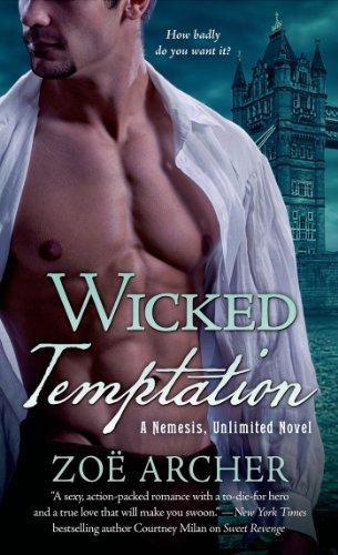 Wicked Temptation: A Nemesis, Unlimited Novel (Nemesis Unlimited Book 3)