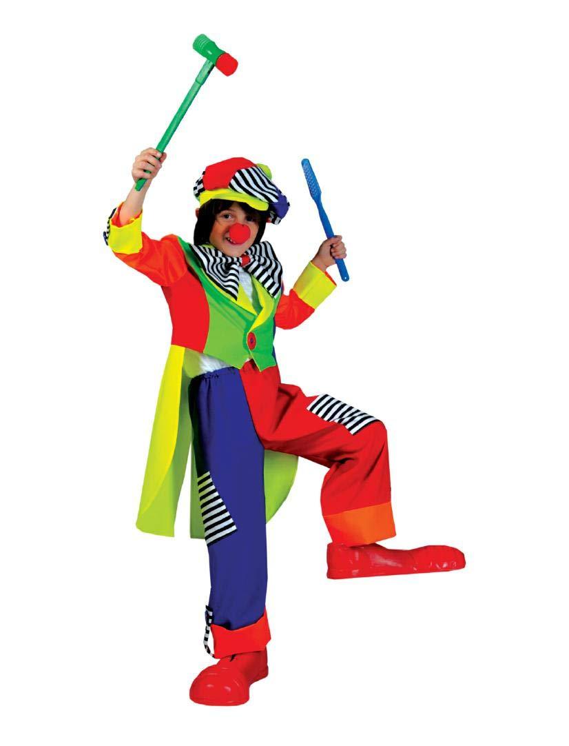 Cesar-Disfraz de payaso, Olaf: Amazon.es: Juguetes y juegos