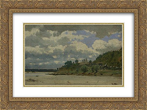 Ivan Shishkin 2x Matted 24x18 Gold Ornate Framed Art Print - Galleria Riverside