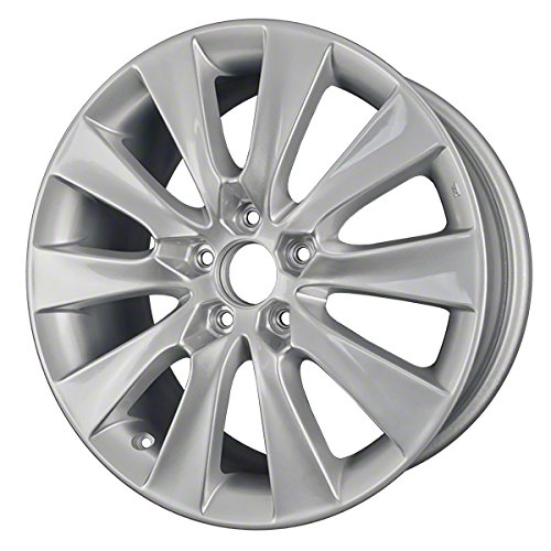 18'' All Painted Silver New OEM Wheels for 08-11 HONDA ACCORD