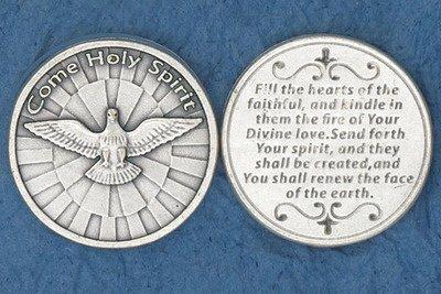 Catholic Prayer Cards Holy Spirit Pocket Coin ()