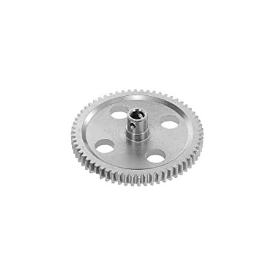 Mobiliarbus RC Car Metal Center Reduction Gear 62T for 1:12 Wltoys 12428 12423 FY-03 Off-Road Car Truck: Toys & Games