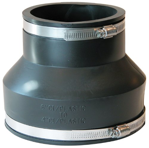 Fernco Inc. P1056-64 6-Inch by 4-Inch Stock Coupling by Fernco